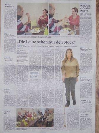 Bild: Artikel aus der Wetzlarer Neuen Zeitung vom 03.03.2017